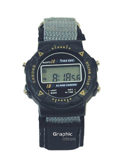 C-57 Unisex Wrist Watch with Alarm & stopwatch function.