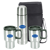 FY-3S 4 pieces Stainless Steel Travel Mug Set.