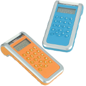 GH-602 Shake-Rechargeable Calculator.