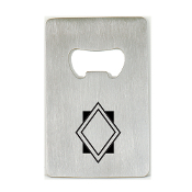 SB-06 Stainless Steel Bottle Opener.