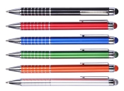 SR-1015 Metal Ballpoint Pen with Color Stylus.