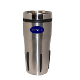 FY-036 16 oz. Stainless Steel Rib Grip Tumbler.