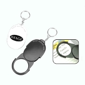 C-348 3X Pocket Magnifier with Key Chain.