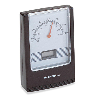 GC-999V LCD Clock with Thermometer.