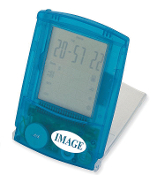 KI-2004XB Touch Screen World Time Clock/Calculator.