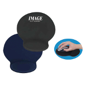 MF-002 Soft Top Mouse Pad with Wrist Rest.