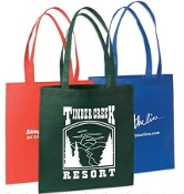 "NW-243 Basic Non-Woven Tote Bag with 28"" handle."