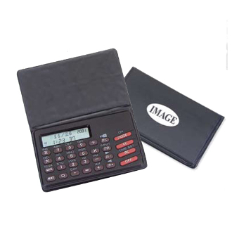 KS-8304 20 Memory Data Bank Bank Calculator w/Date & Time.