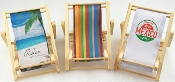 NV106HT Wooden Mini Beach Chair Cellphone Holder-New Big Size
